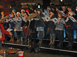 christmas carols londres