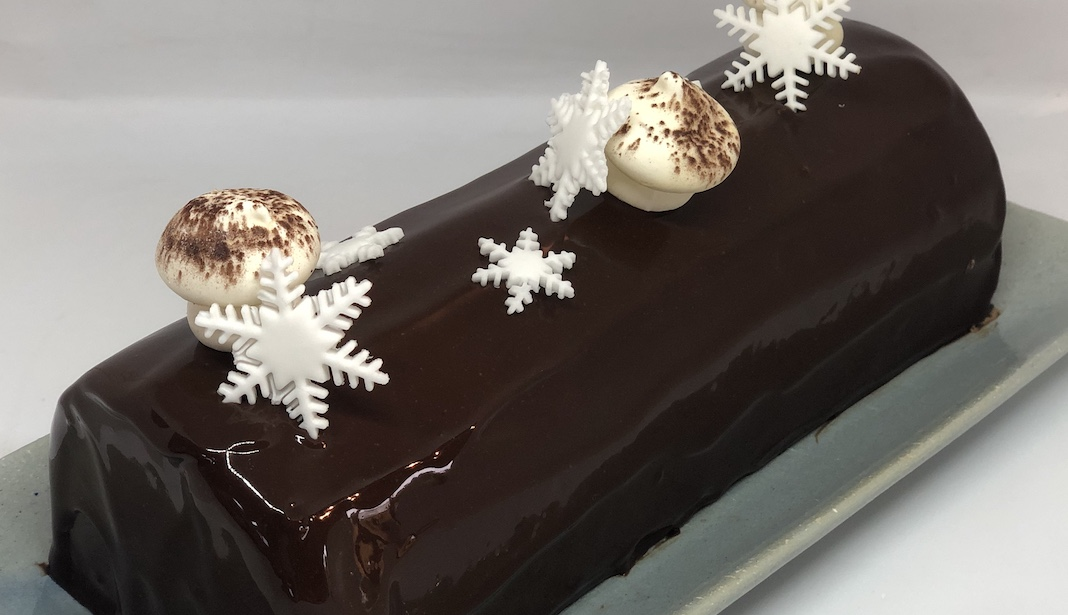 ou trouver une buche Buche noel Chocolat Caramel Alex And The Cakes