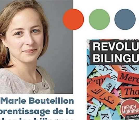 Marie Bouteillon podcast Revolution Bilingue
