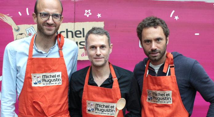 Michel et Augustin lancement marche britannique