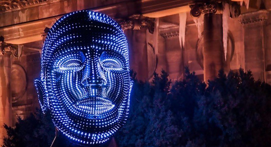 battersea light festival londres
