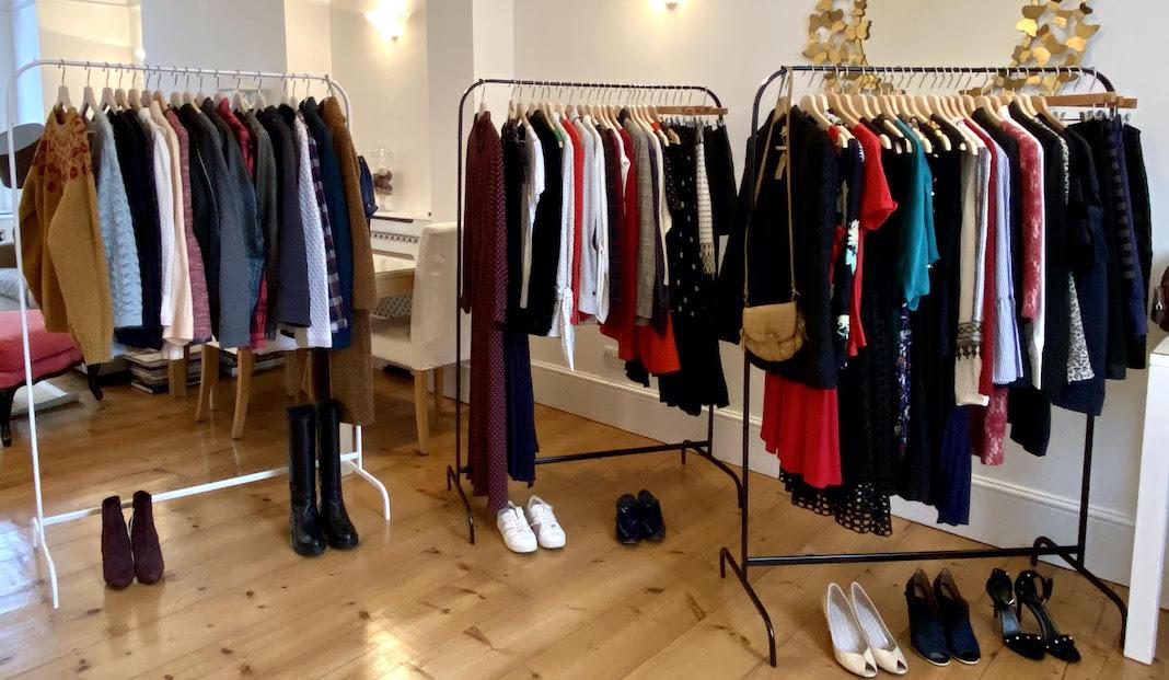 wardrobe series seconde main londres