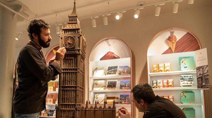 neuhaus chocolat belge ouverture magasin st pancras