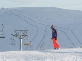 ou skier au royaume-uni