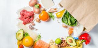 alimentation saine produits liste courses