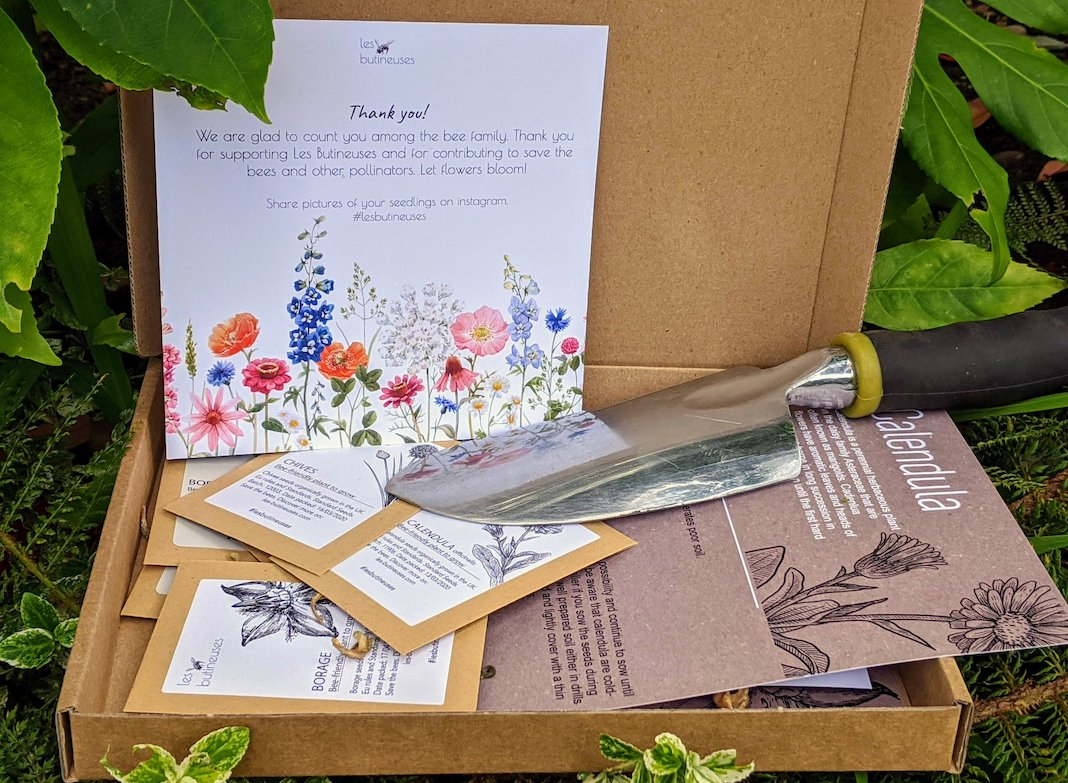 Les Butineuses permabox jardinage