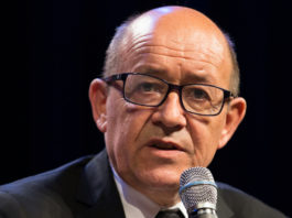 Jean-Yves Le Drian quarantaine france royaume-uni