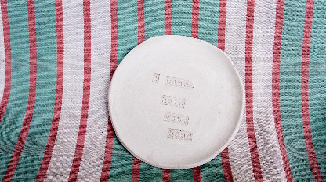 my hungry valentine ceramique confinement