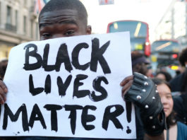 manifestation black lives matter londres
