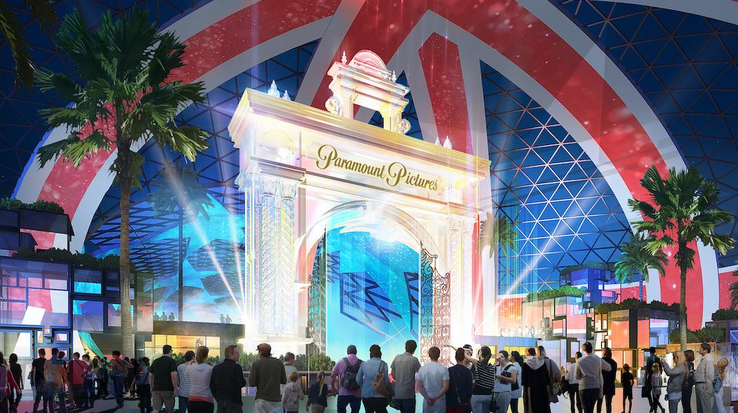 London Resort entree parc attractions