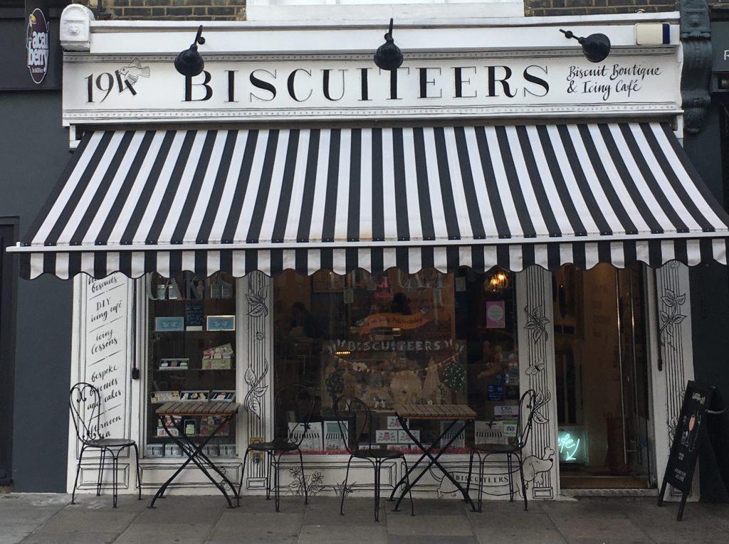 Biscuiteers and icing café