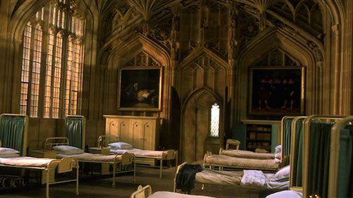 L'infirmerie de Poudlard