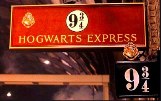 Quai du Poudlard Express