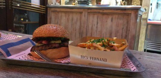 """Le """"raclette burger"""" de Big Fernand"""
