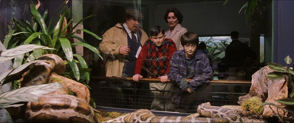 Zoo de Londres dans Harry Potter