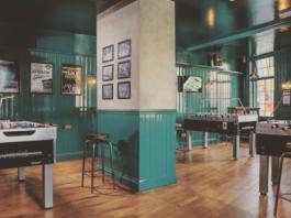 baby foot bar Londres