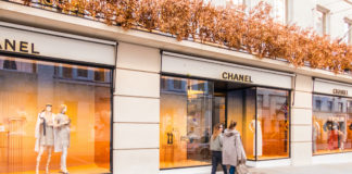 chanel boutique new bond street londres