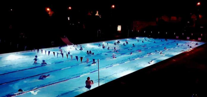 piscine extérieure londres