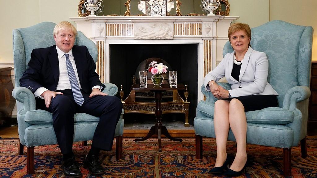 Boris Johnson et Nicola Sturgeon