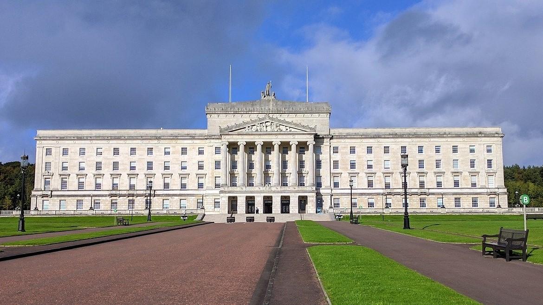 Les 'Parliament Buildings', en Irlande du Nord.